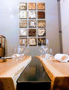 Tavolo e placche Vittoriane