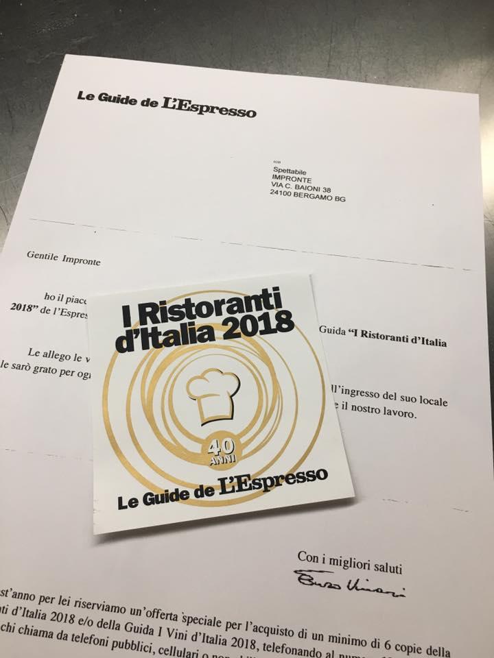 Le Guide de L'Espresso 2018 2